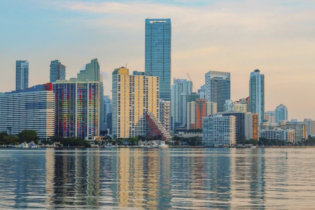 City of Miami and Biscayne Bay